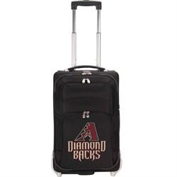 Denco MLB 21-Inch Carry On Luggage, Black - Arizona Diamondbacks DNMLAZL200