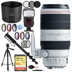 Canon EF 100-400mm f/4.5-5.6L IS II USM Lens (9524B002) w...
