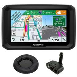 "Garmin 5"" GPS Navigator for Trucks & Long Haul w/ GPS Das..."