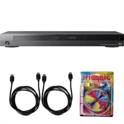 Sony BDP-S7200 4K Wi-Fi Blu-ray Disc Player with Hi Res Audio w/ Accessory Bundle E4SNBDPS7200