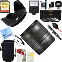 Canon Wide Angle EF-M 11-22mm f/4-5.6 IS STM Lens 7568B00...