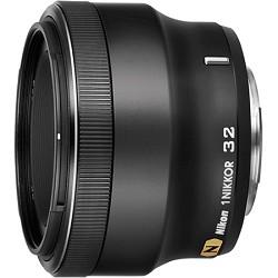 Nikon 1 NIKKOR 32mm f/ 1.2 CX Format Lens (Black)