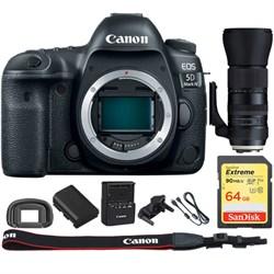 Canon EOS 5D Mark IV CMOS DSLR Camera + Tamron 150-600mm ...