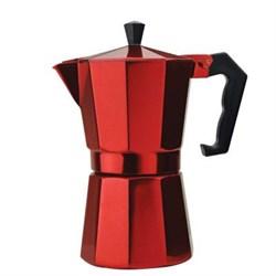 Epoca Stovetop Espresso 6cup Red EPOPERE3306