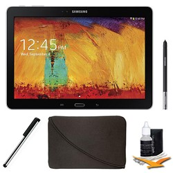 Samsung Galaxy Note 10.1 Tablet - 2014 Edition (32GB, WiFi, Black) Plus Accessory Bundle