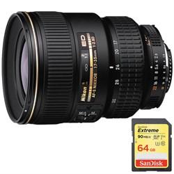 Nikon 17-35mm F/2.8D ED-IF Zoom-Nikkor AF Lens, With Niko...