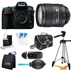 Nikon D810 36.3MP 1080p HD DSLR Camera 24-120mm f/4G ED V...