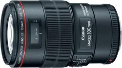 Canon EF 100mm f/2.8L Macro IS USM L-Series Lens (3554B002)
