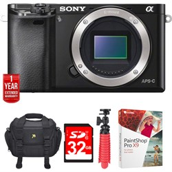 Sony Alpha a6000 24.3MP Interchangeable Lens Camera Body ...