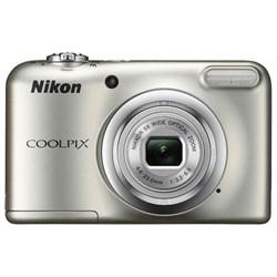 Nikon COOLPIX A10 16.1MP 5x Optical Zoom NIKKOR Glass Lens Digital Camera - Silver NKCPA10S