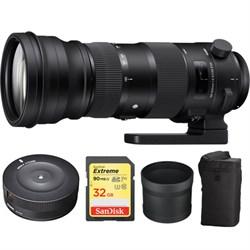 Sigma 150-600mm F5-6.3 DG OS HSM Telephoto Zoom Lens Spor...