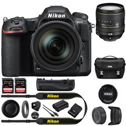 Nikon D500 20.9 MP CMOS DX Format DSLR Camera+16-80mm VR ...