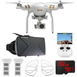 DJI Phantom 3 Pro Quadcopter Drone w/ 4K Camera FPV Virtual Reality Experience E9DJIPHANTOM3PRO