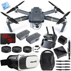 DJI Mavic Pro Quadcopter Drone w/ Camera & Wi-Fi + Virtua...