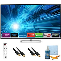 Vizio 60-inch 1080p 240Hz 3D LED Smart HDTV Plus Hook-Up Bundle - M601D-A3R