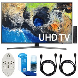 "Samsung 65"" 4K Ultra HD Smart LED TV (2017 Model) w/ Acce..."