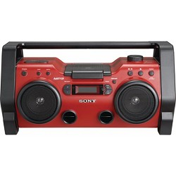 Sony ZS-H10CP Heavy Duty CD Radio Boombox Water and Dust Resistant
