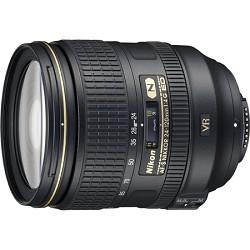Nikon 24-120mm f/4G ED VR AF-S NIKKOR Lens for Nikon FX-format Full Frame D-SLRs NK24120VR
