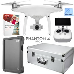 DJI Phantom 4 Advanced Plus Drone with Custom Case, 2TB F...