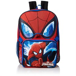 GDC Marvel Boys' Spiderman 16 in Backpack With Lunch Kit GDCUS27676