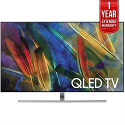 Samsung Flat 75-INCH 4K Ultra HD Smart Qled TV (QN75Q7FAM...