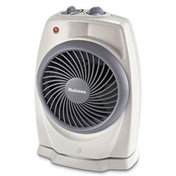 Holmes Power Heater Fan with Swirl Grill
