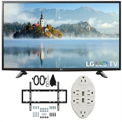 "LG 49"" 1080p Full HD LED TV 2017 Model 49LJ5100 with Wall..."