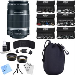Canon EF-S 55-250mm f/4-5.6 IS II (Stabilized) Telephoto ...