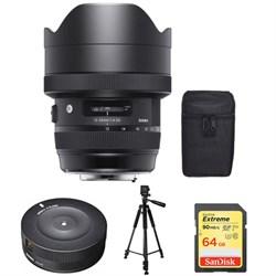 Sigma 12-24mm F4 DG HSM Art Nikon - 205955 with Sigma USB...
