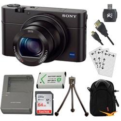 Sony Cyber-shot DSC-RX100 III 20.2 MP Digital Camera Kit