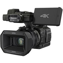 Panasonic HC-X1000 4K 24p Cinema 60p Black Video Camcorder