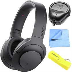 Sony Wireless NC On-Ear Bluetooth Headphone w/ NFC Charco...