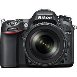 Nikon D7100 DX-format Black Digital SLR Camera Kit with 18-140mm VR Lens