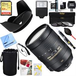 Nikon 28-300mm f/3.5-5.6G ED VR AF-S NIKKOR Lens + 64GB Ultimate Kit E18NK2191