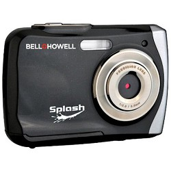 Bell and Howell Splash 12MP Waterproof Digital Camera, Anti-Shake (Black)