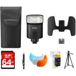 Sony Premium Compact Flash  with 64GB Memory Card Bundle