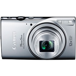 Canon Powershot ELPH 350 HS Silver 20.2MP Digital Camera ...