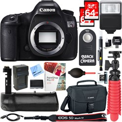 Canon EOS 5DS R 50.6MP Digital SLR Camera Body + Battery ...