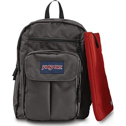 JanSport Digital Student Backpack - Forge Grey (T19W)