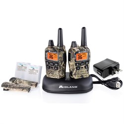 Midland T75VP3 36 Channel/38 Mile Two Way Radio with 121 codes, W/X Scan-Alert MLT75VP3