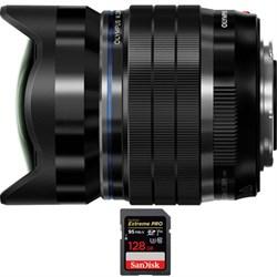 Olympus M.Zuiko Digital ED 8mm f1.8 Fisheye PRO Lens with...