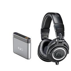 Audio-Technica ATH-M50x Professional Headphones And FIIO ...