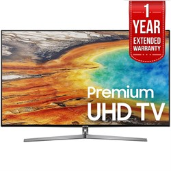 "Samsung 55"""" UHD 4K HDR LED Smart HDTV Black 2017 Model  with Extended Warranty"" E10SAMUN55MU9000"