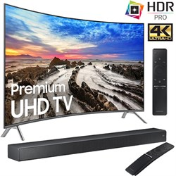 "Samsung UN55MU8500FXZA 55"" Curved 4K Ultra HD Smart LED T..."