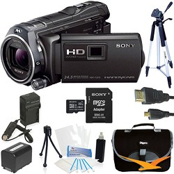 Sony HDR-PJ810/B Full HD 60p/24p Camcorder Kit