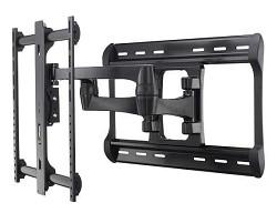 """Sanus HDpro Full-motion Dual Arm Mount, 42"""" - 90"""" TVs, Ex..."""