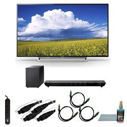 Sony KDL60W630B - 60-Inch 1080p LED Smart HDTV Motionflow XR 480 Bundle