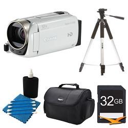 Canon VIXIA HF R500 1080/60p HD Camcorder White Kit