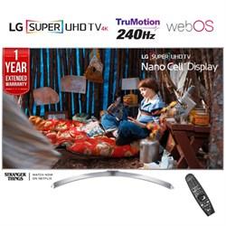 """LG SUPER UHD 65"""""""" 4K HDR Smart LED TV (2017) + 1 Year Extended Warranty -Refurbished"""" CRTLG65SJ8000"""
