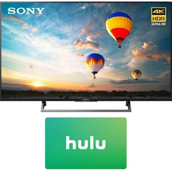 Sony XBR-55X800E 55-inch 4K HDR Ultra HD Smart LED TV (2017 Model) w/ 3 Month Netflix Subscription